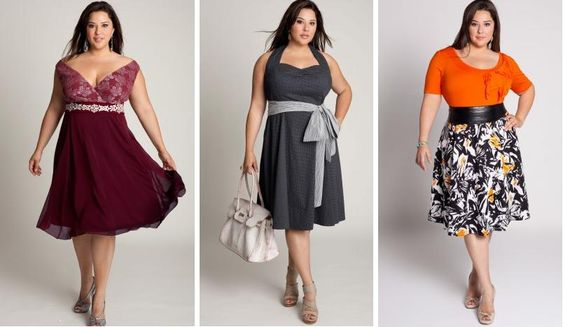 I loove cute clothes for plus size girls, that aren't grandma-ish.