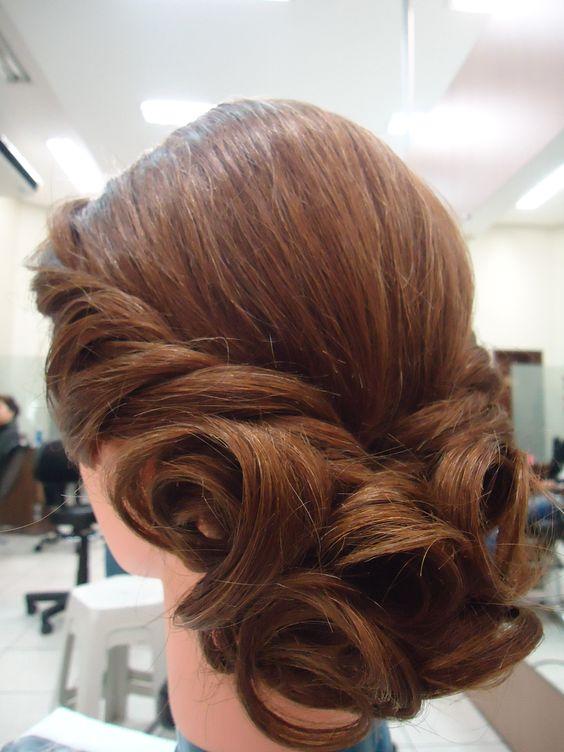 penteado estilo natural