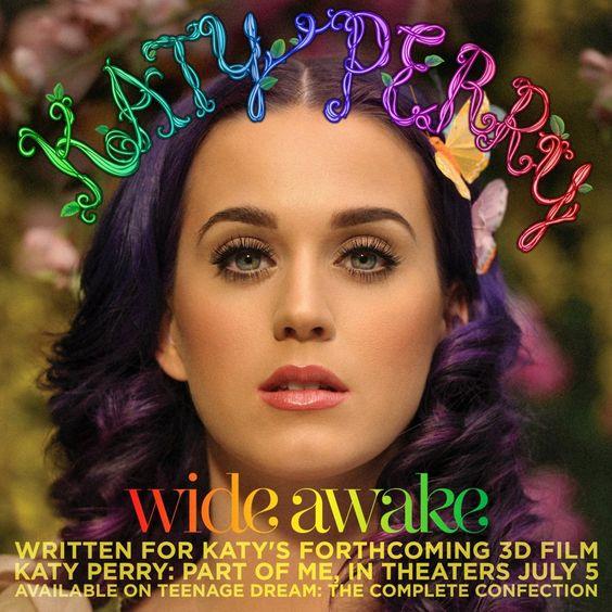 Katy Perry – Wide Awake (single cover art)