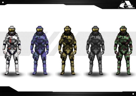 Concept de Skins de spationautes.