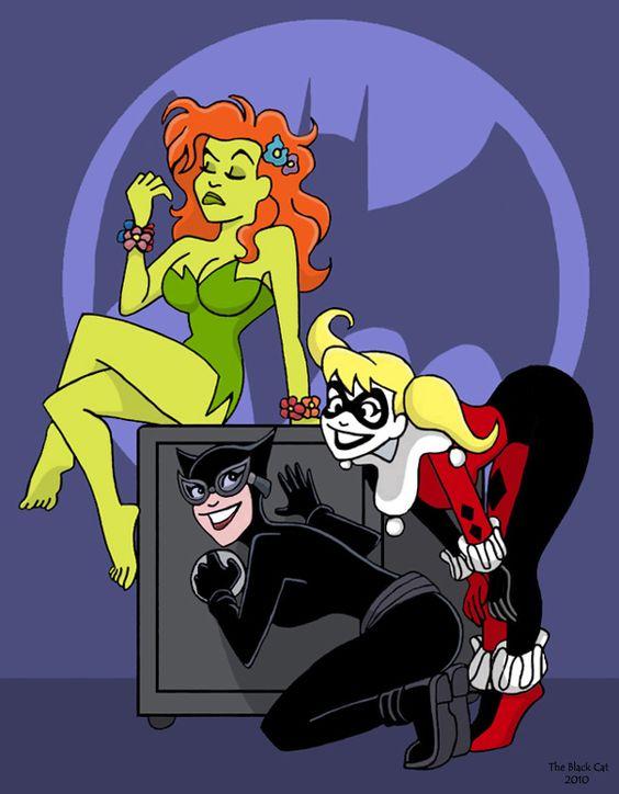 Gotham Girls by *TheBlackCat-Gallery on deviantART