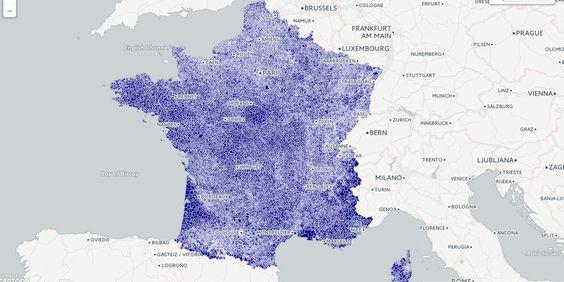 ONPDP - 3G, 4G… découvrez quel opérateur a le meilleur réseau dans votre commune avec cette carte interactive