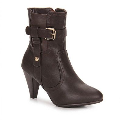 Ankle Boots Mooncity 77405 - Marrom