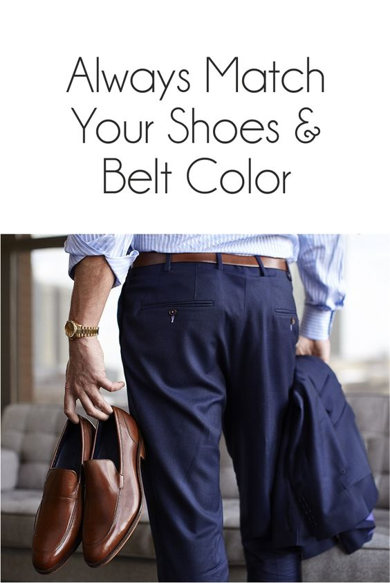 Belts and shoes