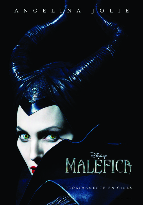 Primer póster de Angelina Jolie como Maléfica