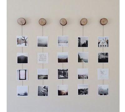 Ideias criativas para colocar fotos em paredes ~ ARQUITETANDO IDEIAS