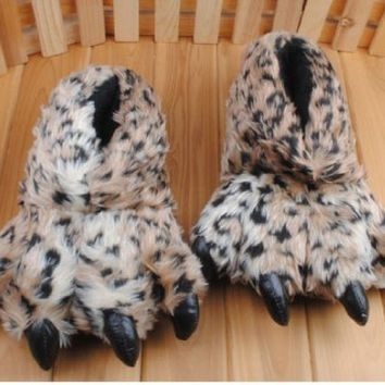 leopard claw slippers - Google Search