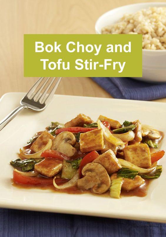Bok Choy and Tofu Stir-Fry   Recipe   Vegetarian recipes, Tofu and ...