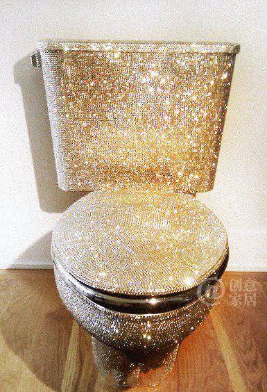 Mi bano quiero un inodoro de oro en mi bano moda para - Quiero reformar mi bano ...
