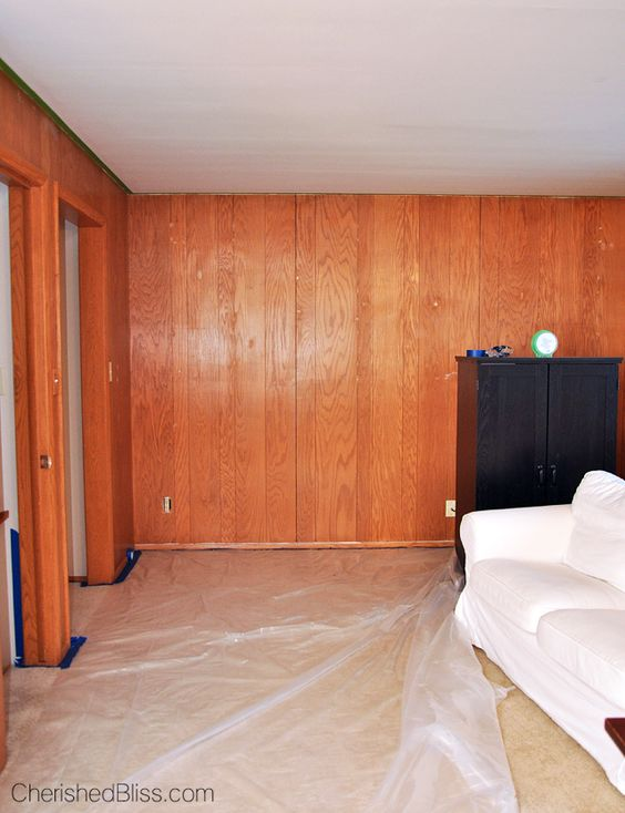 How To Paint Wood Paneling How To Paint Colors And Paint