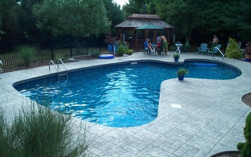 Home the o 39 jays and pools on pinterest - Fiberglass shells for swimming pools ...
