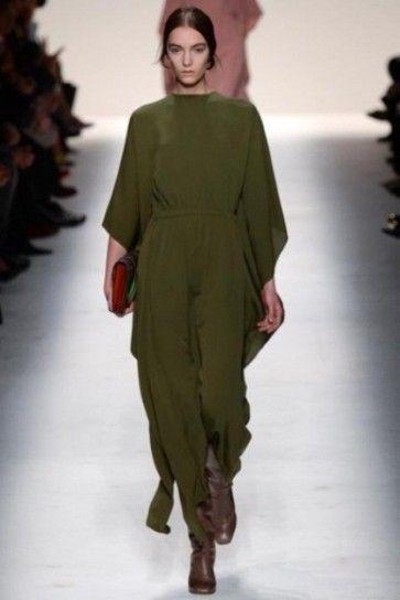 Jumpsuit verde oliva Valentino