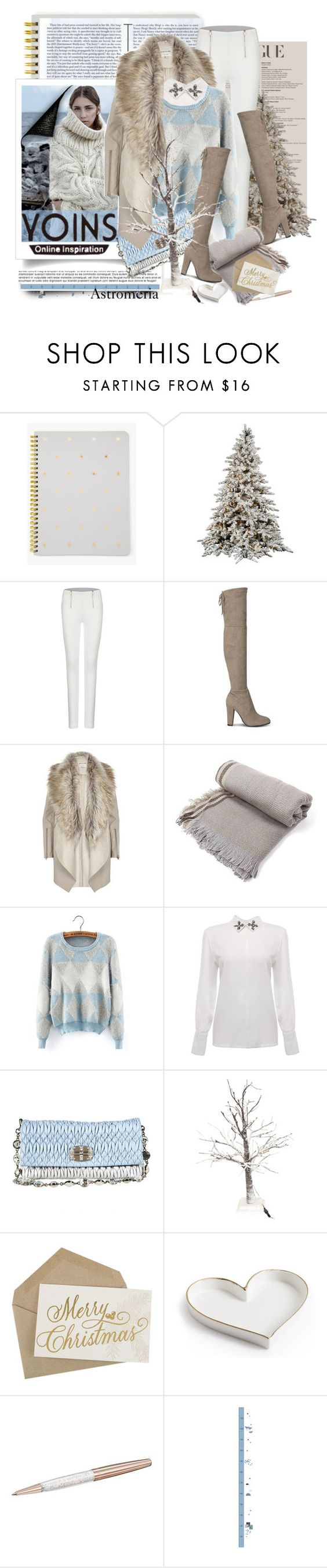 """♡ Fluffy Diamond Long Sleeve Sweater by YOINS (prize) ♡"" by astromeria ❤ liked on Polyvore featuring Sugar Paper, River Island, Miu Miu, Swarovski and Lilipinso"