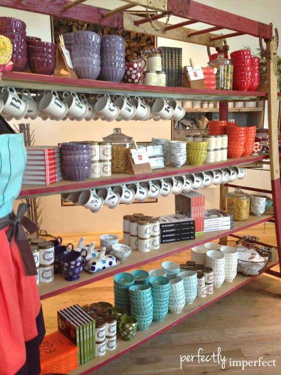... shelves shelves anthropologie the mug retail displays display ikea