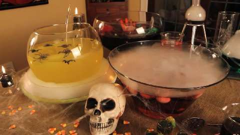 halloween punch black