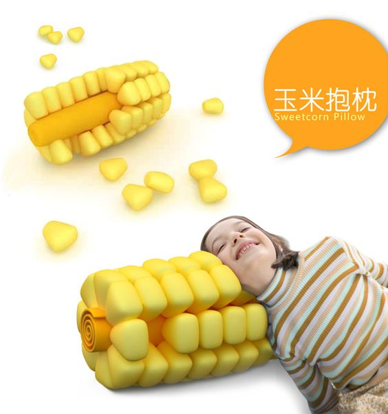 Finally. The sweetcorn pillow has arrived. Perfect addition to any Cobber living space! #cordmn
