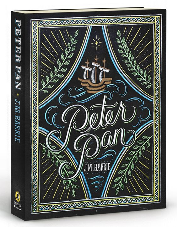 Puffin Chalk Peter Pan Book