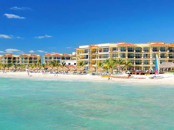 Perks like you'd find at a Cancun mega resort—think a 22,000-square-foot pool—in quiet Puerto Morelos. Who says you can't have it all?  The Destination Halfway between Cancun and Playa del...