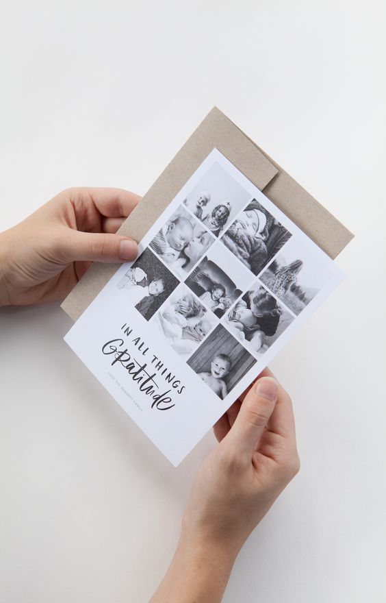 In All Things Gratitude   The 2015 Holiday Photo Card collection from @artifactuprsng