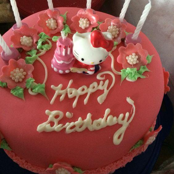 Raechel's hello kitty cake