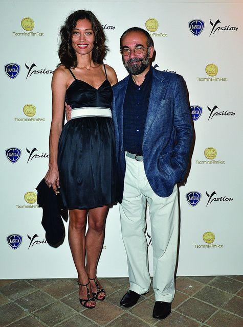 Margaret Made e Giuseppe Tornatore al Taormina Film Fest 2013.