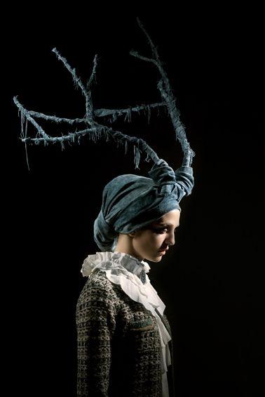 .: Antler Crown, Awesome Antlers, Antler Headdress, Antlers Costume, Antlers Headdress, Blue Antlers, Antlers Horns, Costume Inspiration