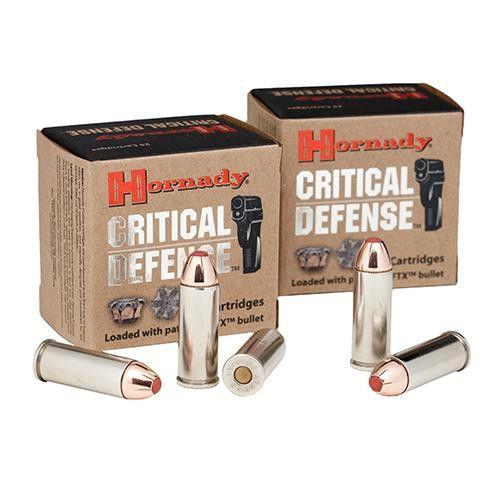 45 Long Colt by Hornady - 185 Gr. FTX Critical Defense-20
