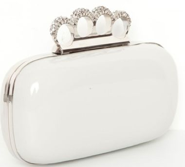 So Glam! Knuckle Clutches Are Awesome! Unless You Over-Do It.