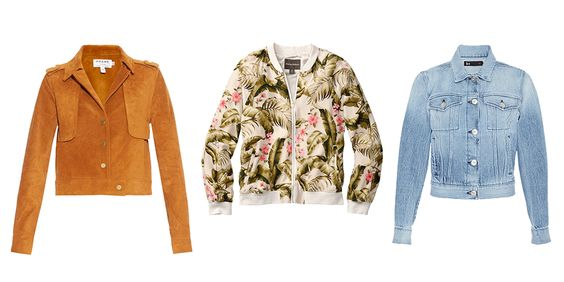 Spring Jackets To Warm Up Your Closet