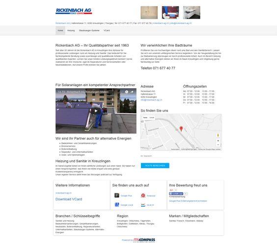 Rickenbach AG, Kreuzlingen, Thurgau, Badezimmersanierungen, Gesamtsanierungen, Neubauten