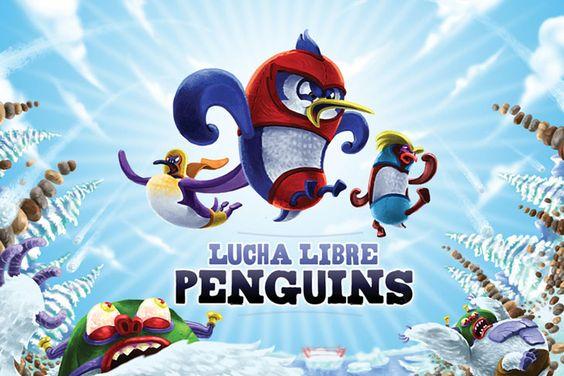 Lucha Libre Penguins