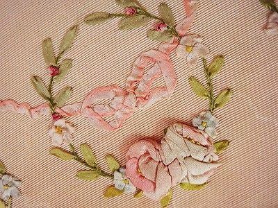antique silk ribbon embroidery