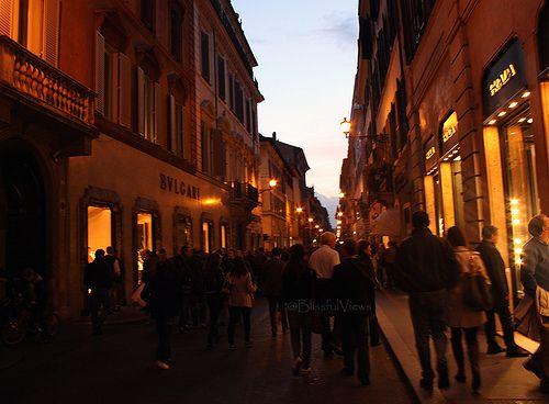 Down the Runway - Piazza di Spagna Rome BlissfulViews
