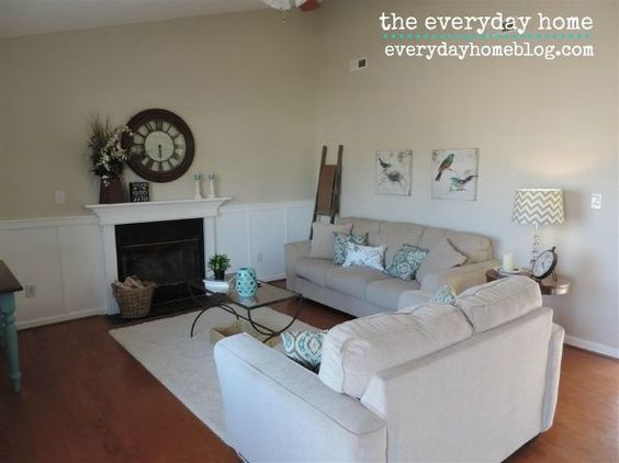 how 50 worth of wood totally transformed a wall, fireplaces mantels, wall decor, woodworking projects