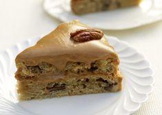 Kaffee-Pekannuss-Torte