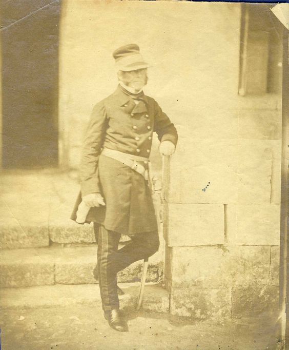 vintage unknown photo major general Eastcourt by Fenton Crimea war calotype 1855