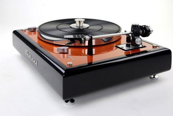 Thorens TD 160 Plattenspieler Turntable Designerstück revidiert