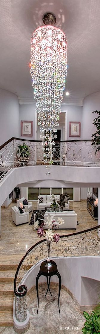 Luxury homes Luxury and Chandeliers on Pinterest