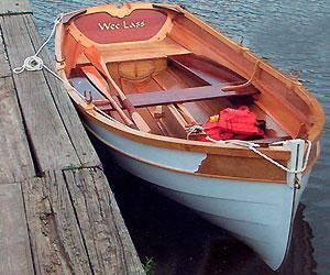 wooden boat plans and kits