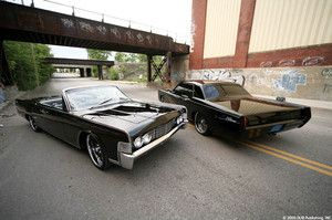 """Yes!!! 1965 Lincoln Continental """"The Hit Man"""" from MobSteel!!! N up for sale!"""