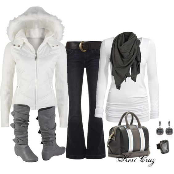 """Snow Bunny"" by keri-cruz on Polyvore"