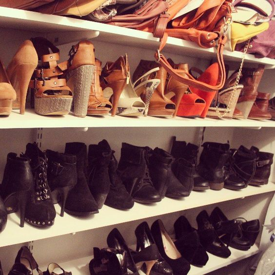 Trying to organize my #closet  so my #BFF @mezanise doesn't kill me :-) #closetorganization #shoes #shoeporn #jessicasimpsonshoes #Ninewest #ninewestshoes #calvinklein #vintage #designer #urbanog #michaelkors #dkny #OASAP #igdaily #igfame #instamood #picoftheday #blogger #fashionandtherebel #shoewhore #closetenvy