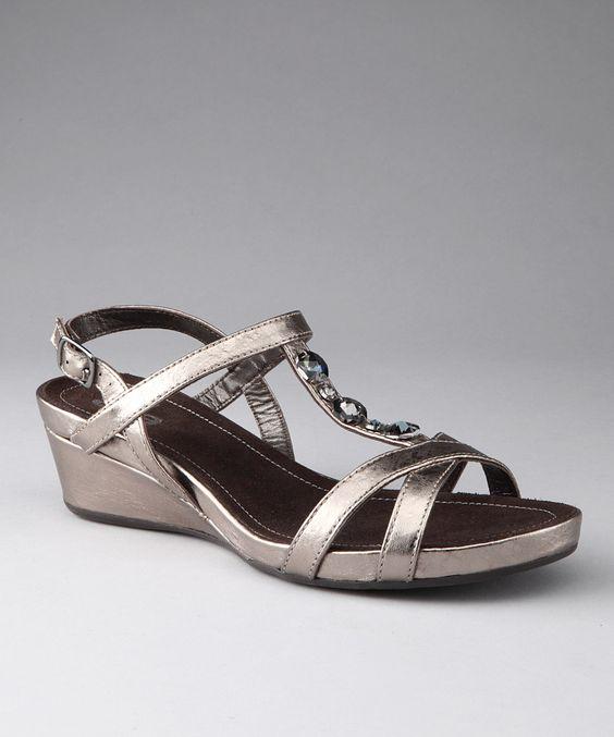 Metallic Titan Sierra Sandal