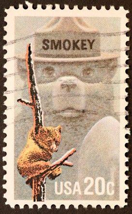 Smokey the Bear, US postage stamp