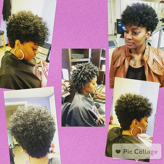 Crochet Braids On Tapered Cut : short tapered crochet braids crochet tapered cut tapered crochet ...