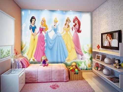 quarto para menina com papel de parede - Pesquisa Google