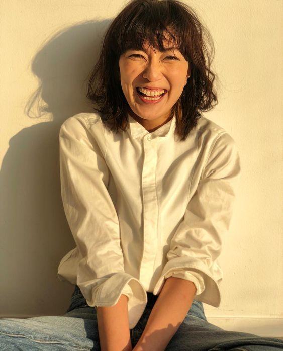 前髪板谷由夏さん