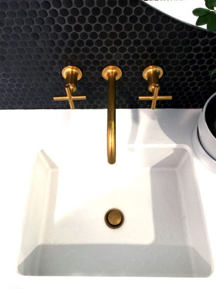 Copper Taps And Wall Mount Faucet On Pinterest
