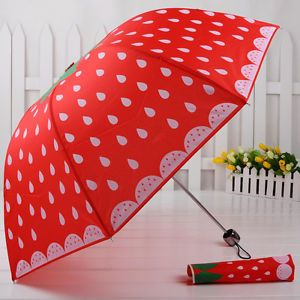 Cute strawberry umbrella ♡♡♡