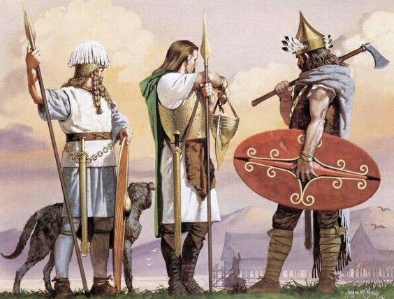 Guerreros celtas -Google 2009